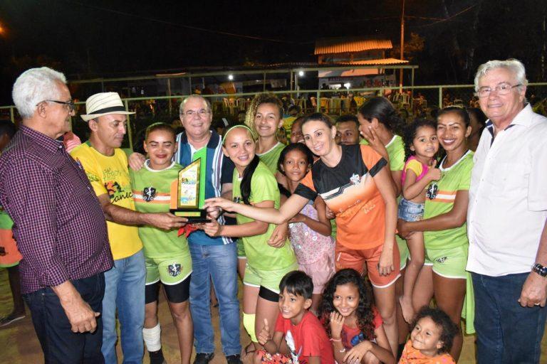 Hildo Rocha participa do encerramento dos Jogos de Verão de Grajaú