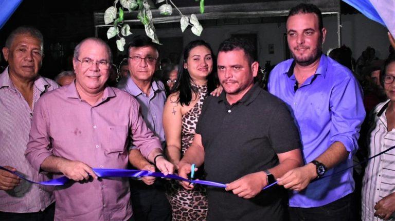 Prefeito Rodrigues inaugura UBS e implanta melhorias na saúde com recursos viabilizados pelo deputado Hildo Rocha