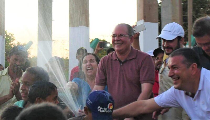 Inaugurado em Santa Luzia sistema de abastecimento de água construído com emenda do deputado Hildo Rocha