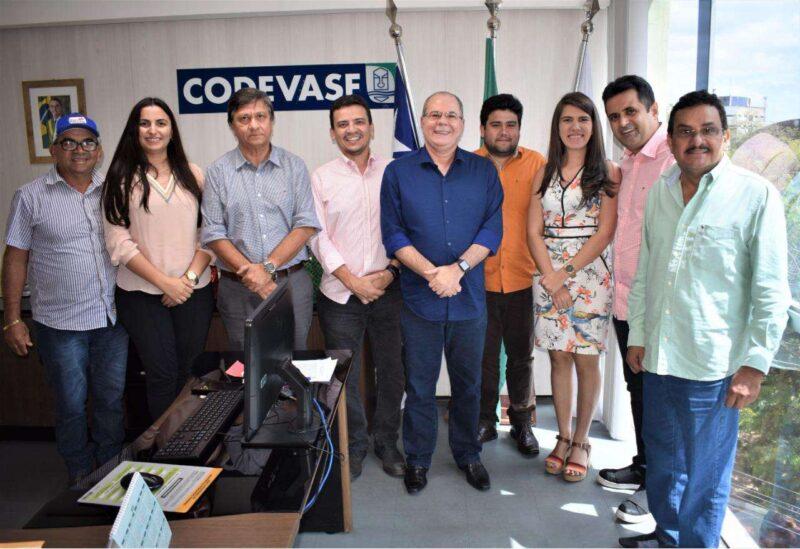 Cidelândia, Grajaú, Peri Mirim, Porto Franco, Senador La Rocque e São Francisco do Brejão assinam contrato com a Codevasf para realização de obras financiadas com emendas de Hildo Rocha