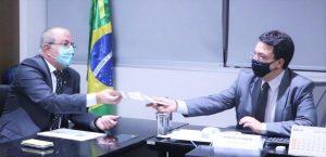 Hildo Rocha vai ao FNDE para solicitar investimentos na educação do Maranhão