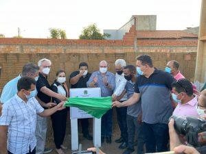 Deputado Hildo Rocha e prefeito Mercial Arruda inauguram pavimentação na Vila Tucum, em Grajaú