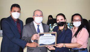 Hildo Rocha é homenageado com título de cidadão bom jardinense