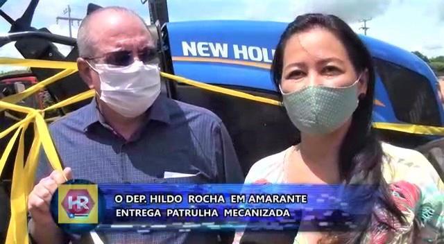 FOTO 3 %E2%80%A2 Hildo Rocha entrega patrulha mecanizada para agricultores de Amarante - Hildo Rocha entrega patrulha mecanizada para agricultores de Amarante - minuto barra