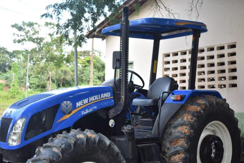 FOTO 4 %E2%80%A2 Hildo Rocha entrega patrulha mecanizada para agricultores de Miranda do Norte - Hildo Rocha entrega patrulha mecanizada para agricultores de Miranda do Norte - minuto barra