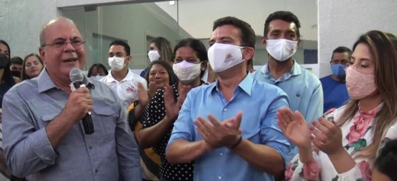 FOTO 1 3 - Deputado Hildo Rocha e prefeito Dário Sampaio inauguram unidade de saúde, em Senador La Rocque - minuto barra