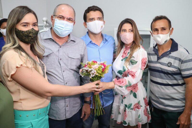 FOTO 6 2 - Deputado Hildo Rocha e prefeito Dário Sampaio inauguram unidade de saúde, em Senador La Rocque - minuto barra
