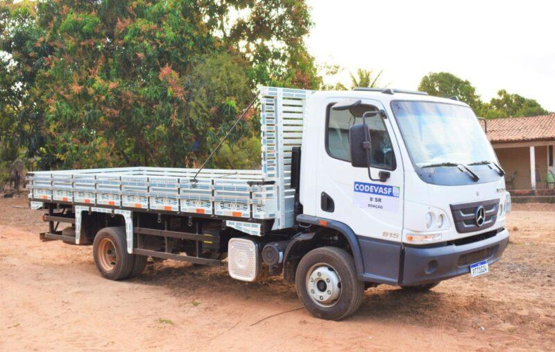 Hildo Rocha entrega caminh%C3%A3o para agricultores do povoado Bom Sossego em Fortuna 3 - Hildo Rocha entrega caminhão para agricultores do povoado Bom Sossego, em Fortuna