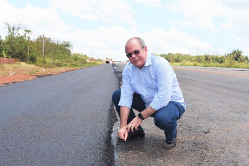 FOTO 3 6 - Deputado federal Hildo Rocha vistoria duplicação da BR-135