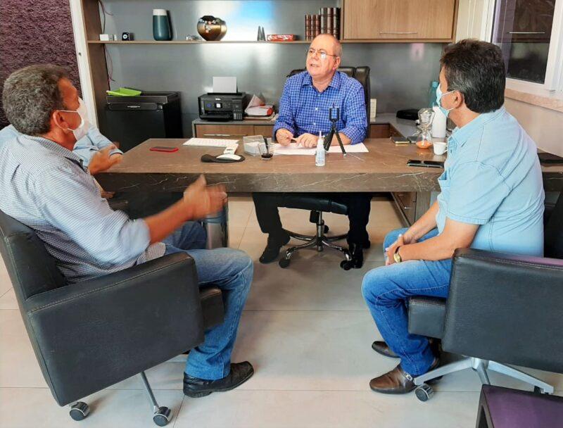 Hildo Rocha e prefeito Zez%C3%A3o refor%C3%A7am parcerias para o desenvolvimento de Governador Luiz Rocha 3 - Hildo Rocha e prefeito Zezão reforçam parcerias para o desenvolvimento de Governador Luiz Rocha