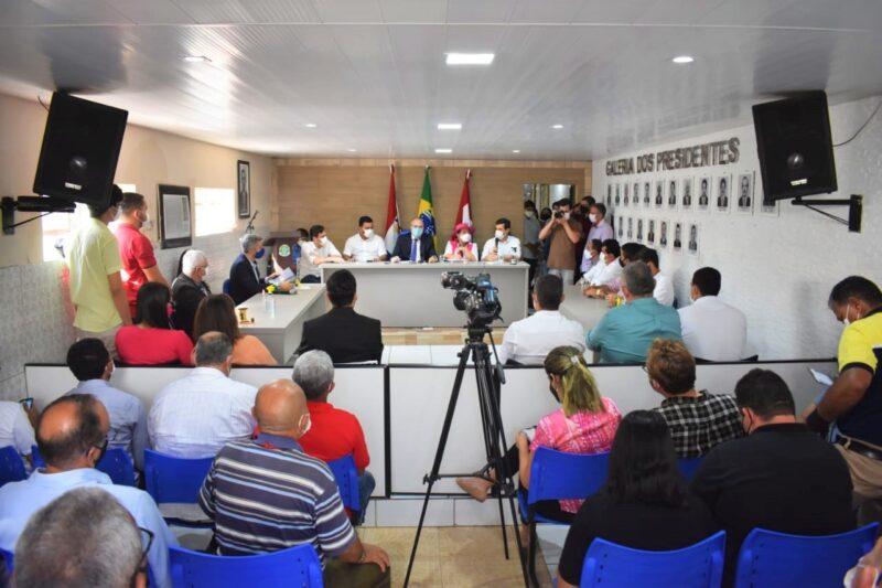 C%C3%A2mara Municipal de Dois Riachos AL 1 - Hildo Rocha e autoridades do Rio Grande do Norte e Alagoas debatem impactos provocados pelo fechamento de agências do Banco do Brasil