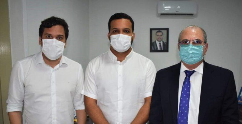 Deputado Isnaldo Bulhões, Prefeito de Dois Riachos, Ramon Camilo e dep Hildo Rocha