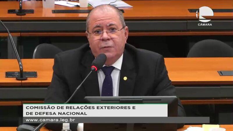 Deputado Hildo Rocha defende acordo entre Brasil e Israel 2 - Para Hildo Rocha acordo entre Brasil e Israel contribuirá para combater tráfico e contrabando